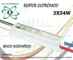 REATOR ELETRONICO 2X54W