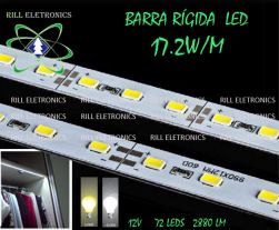 BARRA RÍGIDA LED 17.2 WATTS POR METRO