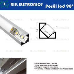 R-3 PERFIL 90º  PARA FITA LED R-3