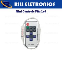 CONTROLE FITA LED MONOCROMÁTICO.