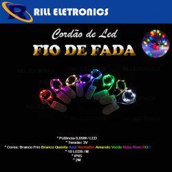 CORDÃO DE LED I FIO DE FADA  2M