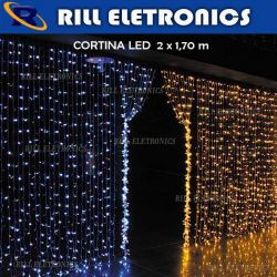 Cortina  LED 2 X 1,70M 574 LEDS