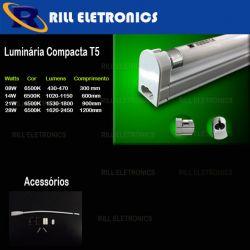 LUMINÁRIA COMPACTA  T5 21W