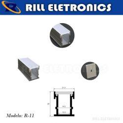 R-11 PERFIL PARA FITA LED PISO R-11