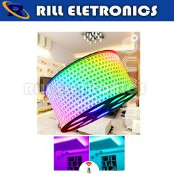 FITA LED RGB   AC 110V OU 220V /  KIT (10M)