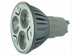 LÂMPADA LED DICROICA 3W GU10 12V SUPER LED