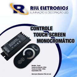 CONTROLE TOUCH SCREEN MONOCROMÁTICO