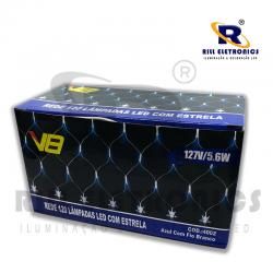 REDE ESTRELA LED ( 120 LED) 127 V