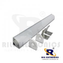 R-8  PERFIL 90º  PARA FITA LED R-8