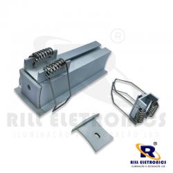R-155 PERFIL DE EMBUTIR PARA FITA LED R-155 - MEDIDA INTERNA 19 MM