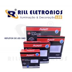 REFLETOR DE LED SMD 10 WATTS  IP65