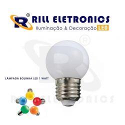 LÂMPADA DE LED  BOLINHA  1 W