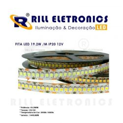 FITA LED 19.2W  /M  IP20  12V 240 LEDS/M