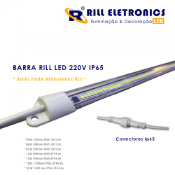 BARRA LED 220V 15W 1190MM