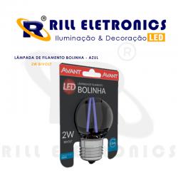 LÂMPADA DE FILAMENTO LED BOLINHA