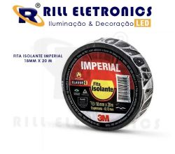 FITA ISOLANTE IMPERIAL 18 MM X 20 M