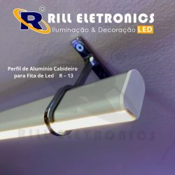 R-13  PERFIL PARA FITA LED  - CABIDEIRO