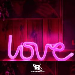 Placa de Led -  Love