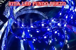 FITA LED 3528 4.8W FUNDO PRETO