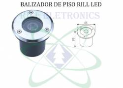 BALIZADOR LED PISO  (1 WATT)