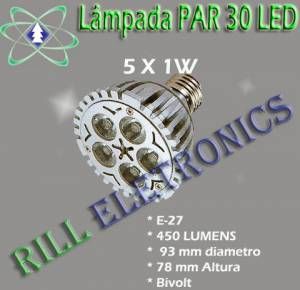 LÂMPADA LED PAR 30 5W