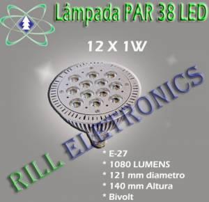 LÂMPADA LED PAR 38 12W